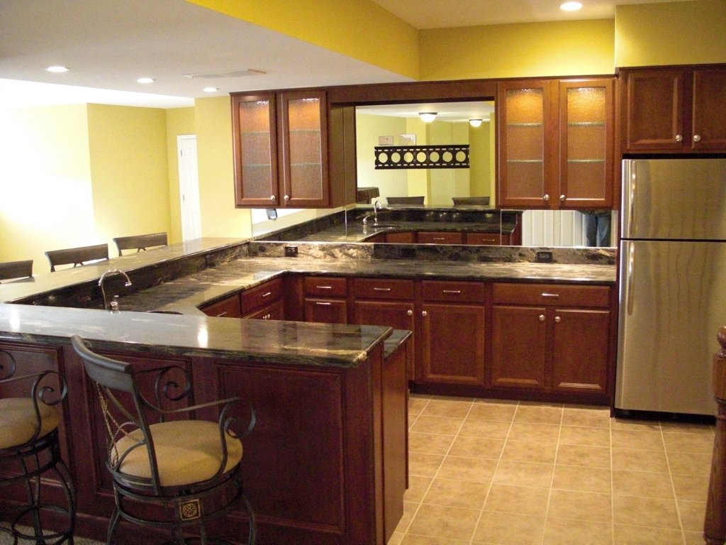 Basement Kitchen Design Image Review